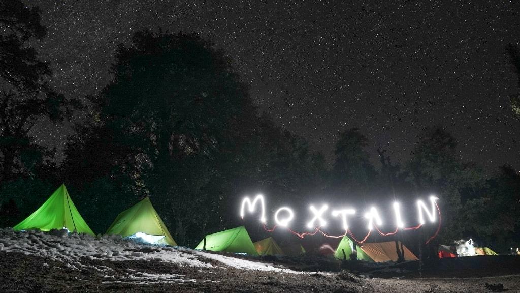 campsite at brahmatal