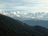 himalayan massif visible from brahmatal top