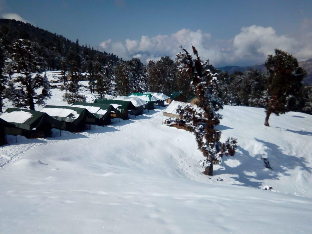 chandrashila campsite