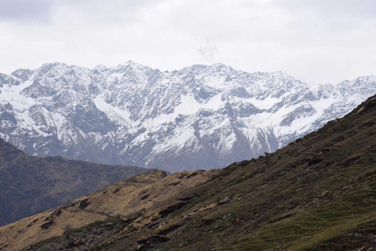 chaukhamba massif