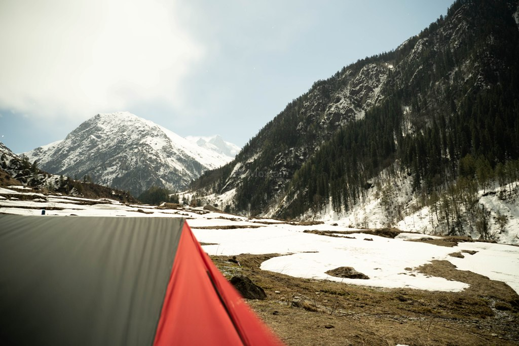 camping at har ki dun