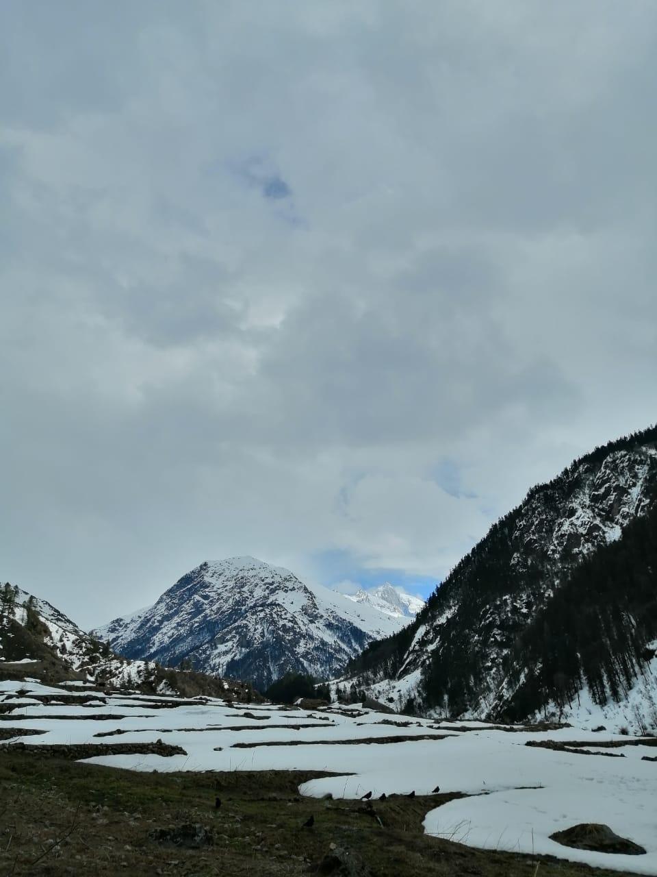 har ki doon valley at monsoon