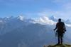 panchachuli peak visible from khaliya top trek