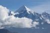 panchachuli peaks view from khaliya top trek