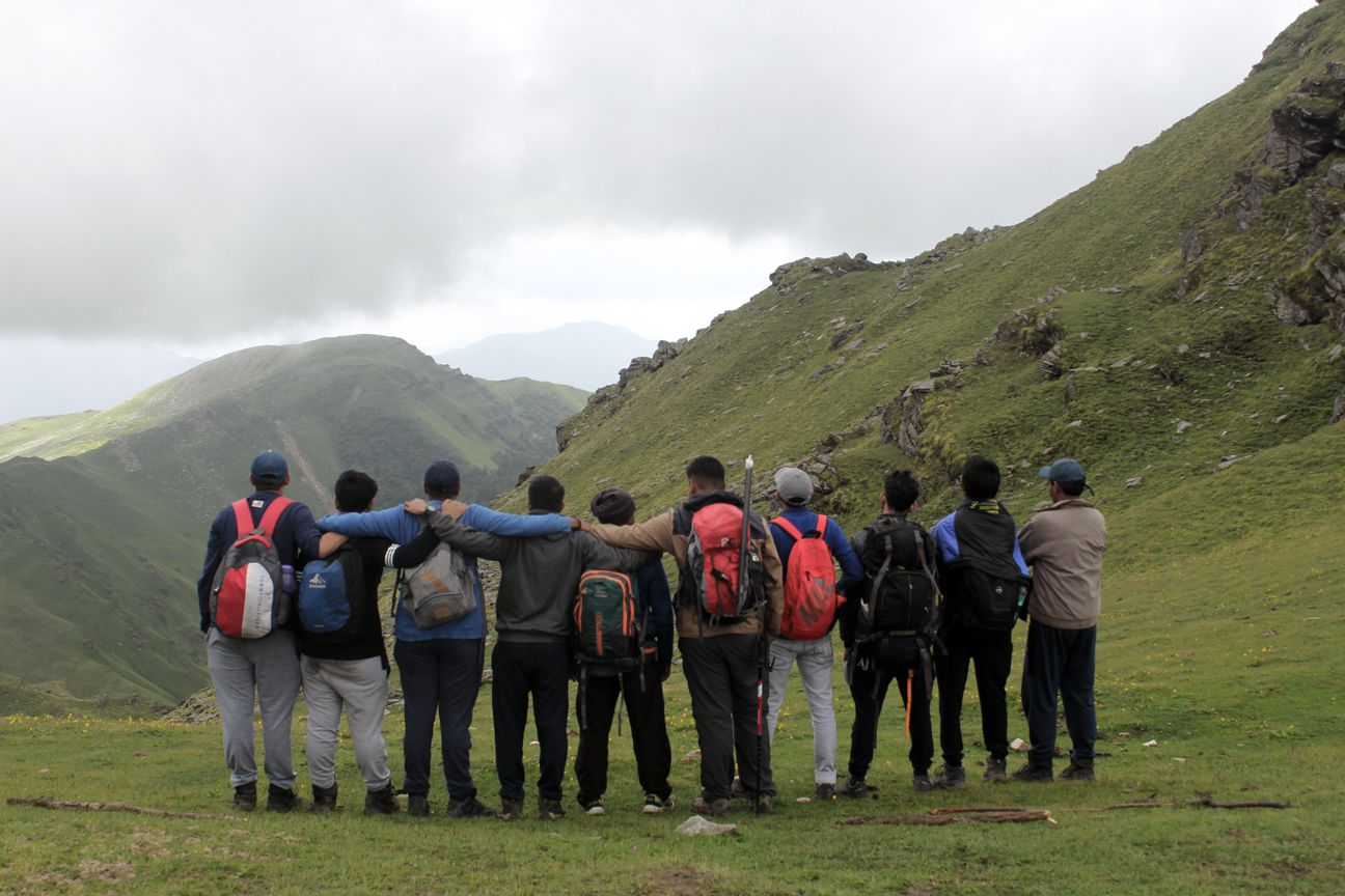 roopkund at monsoon